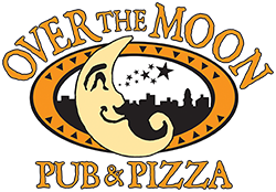 Over the Moon Pub & Pizza Logo